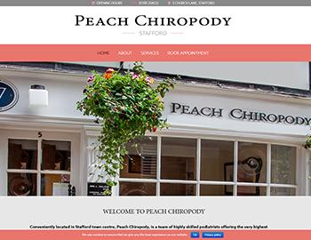 Peach Chiropody