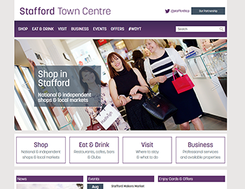 Stafford Town centre
